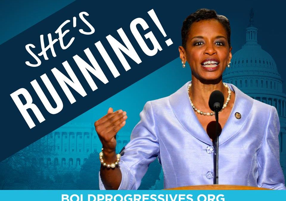 April 27, 2009- Donna Edwards