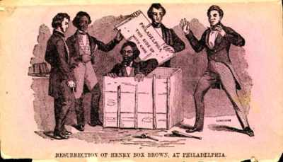 "August 23 1848 Henry ""box"" Brown"