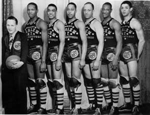 February 10, 1948- Minneapolis Lakers and Harlem Globetrotters