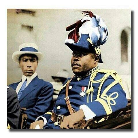 February 8, 1925- Marcus Garvey