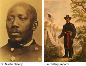 January 27 1861- Martin R. Delany