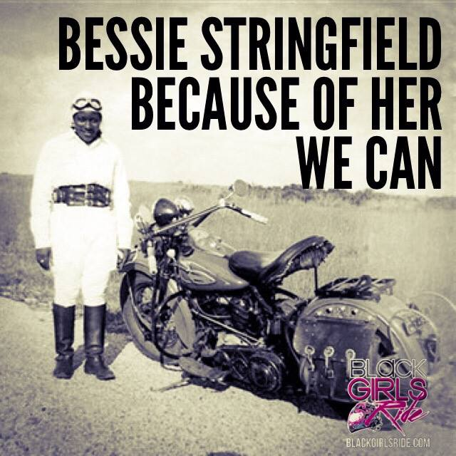 March 31, 2002- Bessie Stringfield