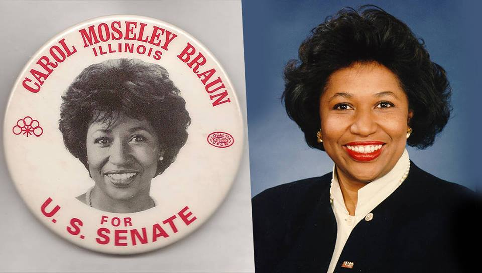 November 3 1992- Carol Moseley Braun
