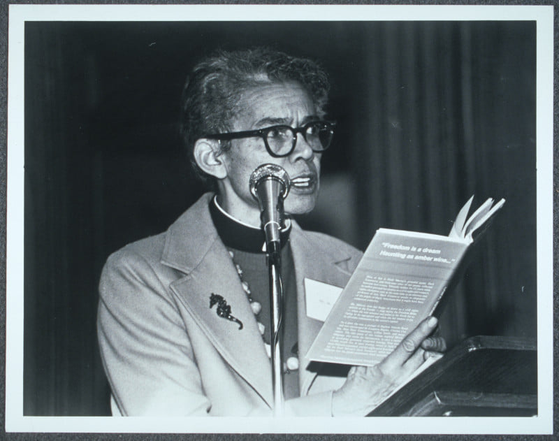 GM – FBF – Today's American Champion was an American civil rights activist who became a lawyer, a women's rights activist, Episcopal priest, and author.