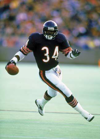 GM – FBF – Today's American Champion was an American professional football player who was a running back for the Chicago Bears of the National Football League (NFL) for 13 seasons.