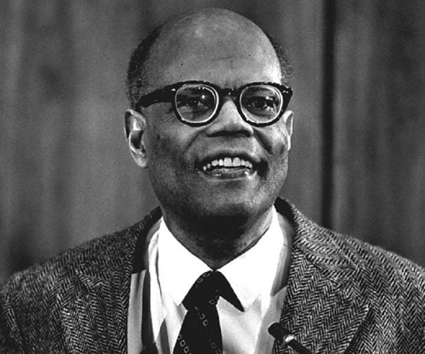 GM – FBF – Today's American Champion was a Saint Lucian economist and the James Madison Professor of Political Economy at Princeton University.