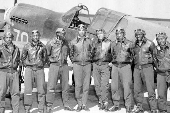 GM – FBF – Today's American Champions were The Tuskegee Airmen were a group of primarily African-American military pilots (fighter and bomber) and airmen who fought in World War II.