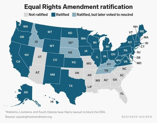 GM – FBF – Today's American Champion event is the Equal Rights Amendment passed by Congress.