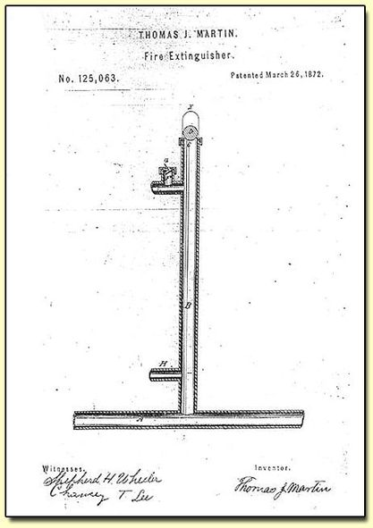 GM – FBF – Today's American Champion was, a Black inventor, who was awarded a patent for the Fire Extinguisher on March 26, 1872.