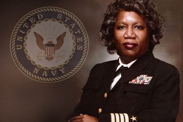 GM – FBF – Today's American Champion is a former United States Navy officer, and was the highest-ranking female African American in the U.S.