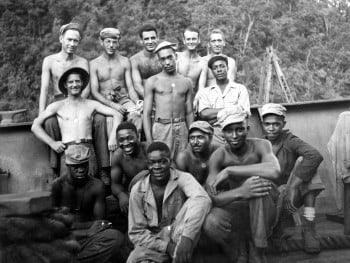 GM – FBF – Today's American Champion unit is the brainchild of Navy Secretary Frank Knox established a committee to investigate the integration of African Americans into the service.