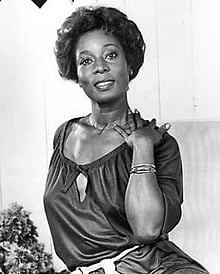 GM – FBF – Today's American Champion was a Jamaican-born American actress best known for her roles in Cornbread, Earl and Me (1975), Convoy (1978), Coming to America (1988), Trapper John, M.D.