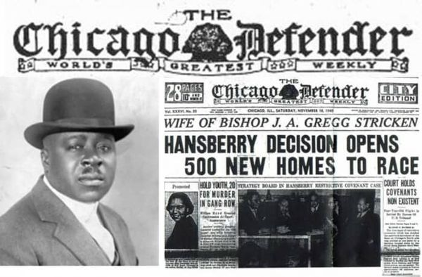 GM – FBF – Today's American Champion event is a Chicago-based online African-American newspaper.