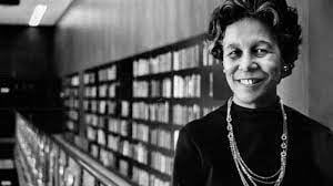 GM – FBF – Today's American Champion was the first African-American president of the American Library Association, serving as its acting president from April 11 to July 22 in 1976 and then its president from July 22, 1976 to 1977.