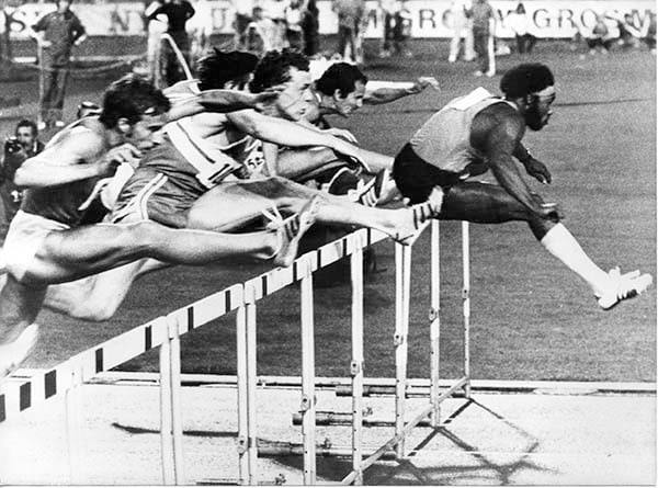 GM – FBF – Today's American Champion was an American athlete who won gold at the 1972 Summer Olympics in Munich in the 110m hurdles.