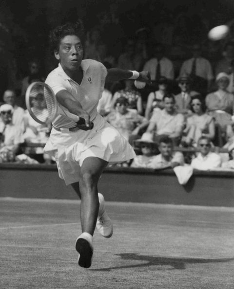 GM – LIF – Today's American Champion was an American tennis player and professional golfer, and one of the first Black athletes to cross the color line of international tennis.