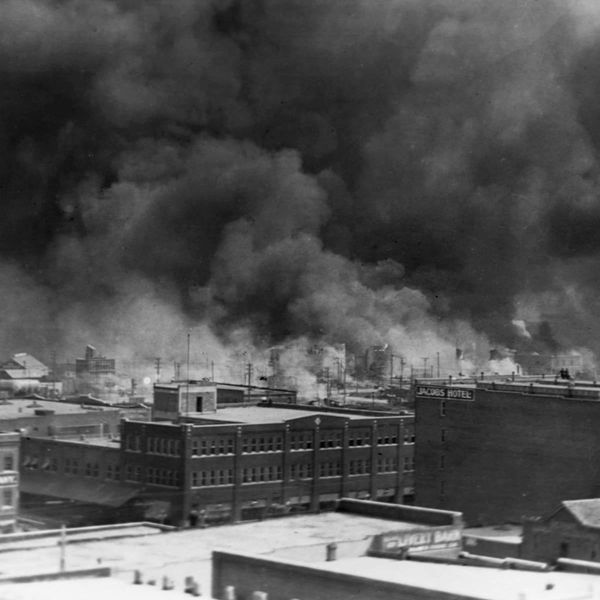 GM – FBF – Today's American Champion event was The Tulsa race massacre (known alternatively as the Tulsa race riot, the Greenwood Massacre, the Black Wall Street Massacre, the Tulsa pogrom, or the Tulsa Massacre) took place on May 31 and June 1, 1921, when mobs of white residents, many of them deputized and given weapons by city officials, attacked black residents and businesses of the Greenwood District in Tulsa, Oklahoma.