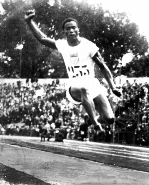 GM – FBF – Today's American Champion was a track and field athlete who was the first African American to win an Olympic gold medal in an individual event: the running long jump at the 1924 Paris Summer games.