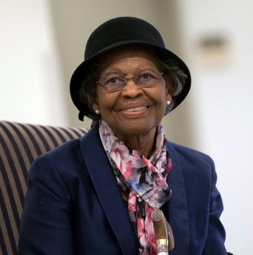 GM – FBF – Today's American Champion is an American mathematician known for her contributions to the mathematical modeling of the shape of the Earth, and her work on the development of the satellite geodesy models that were eventually incorporated into the Global Positioning System (GPS).