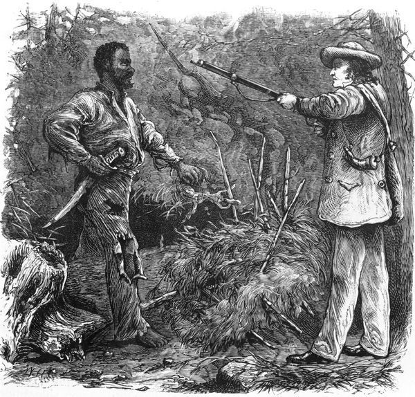 GM – FBF – Today's American was a rebellion of enslaved Virginians that took place in Southampton County, Virginia, in August 1831, led by Nat Turner.