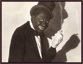 """GM – FBF – Today's American Champions were called """"The Two Real Coons""""! The duo called themselves the """"Two Real Coons"""" as most of the talent in vaudeville were primarily white and were painted in blackface."""