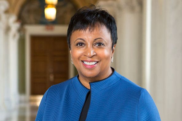 GM – FBF – Today's American Champion is an American librarian and the 14th Librarian of Congress.