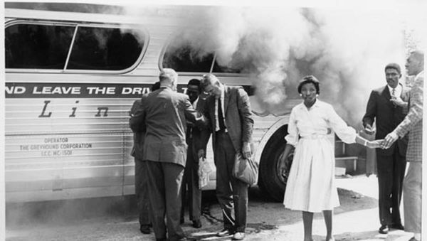 GM-FBF –  Today's American Tragedy is were Ten buses belonging to the Pontiac school system were destroyed by dynamite on the night of Aug.