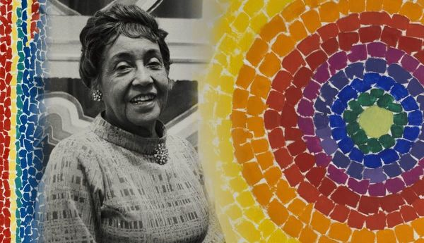 GM – FBF – Today's American Champion was an African-American artist and teacher who lived and worked in Washington, D.C., and is now recognized as a major American painter of the 20th century.