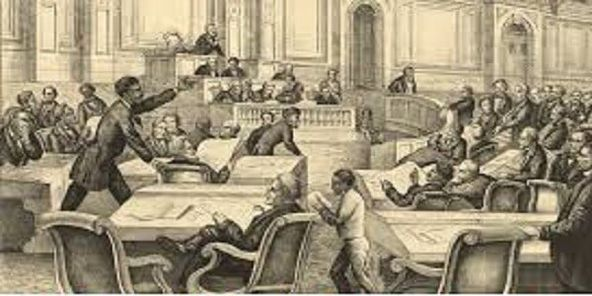 GM – FBF – Today's American Champions were the first 33 African-American members of the Georgia General Assembly who were elected to office in 1868, during the Reconstruction era.